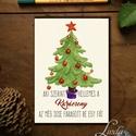 Vicces Karácsonyi Képeslap, Humorors, Adventi kártya, Vicces lap, üdvözlőlap, ironikus, szarkasztikus, Dekoráció, Ünnepi dekoráció, Karácsonyi, adventi apróságok, Ajándékkísérő, képeslap, A/6-os méretű VICCES Igényes Egyedi Karácsonyi képeslap, borítékkal együtt.  A képeslap kinyitható, ..., Meska