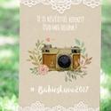 Vintage Esküvői Felirat A3, Esküvői poszter, Esküvő Dekor, Esküvői felirat, Vintage, Csipke,Zsákvászon, fotó, fénykép,, Esküvő, Dekoráció, Esküvői dekoráció, Kép, Fotó, grafika, rajz, illusztráció, Papírművészet, A/3-as Esküvői Poszter, Dekoráció, bármilyen kérhető egyszerű felirattal. Keret, álvány nélkül.  A3..., Meska