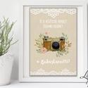 Vintage Esküvői Felirat A4, Esküvői kép, Esküvő Dekor, Esküvői felirat, Vintage, Csipke,Zsákvászon, fotó, fénykép, #, Esküvő, Dekoráció, Esküvői dekoráció, Kép, A/4-es Esküvői Felirat Dekoráció, bármilyen egyszerű szöveggel, keret nélkül.  Tökéletes kellék & De..., Meska