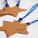 Vintage Karácsonyi Ajándékkísérő, Adventi Kártya, Csillag, Mikulás, barna, Ünnepi, kék, kiskártya, ajándék, natúr, Otthon & lakás, Karácsonyi, adventi apróságok, Ünnepi dekoráció, Dekoráció, Ajándékkísérő, Naptár, képeslap, album, Ajándékkísérő, Vinateg stílusú Csillag mintájú Igényes Ajándékkártya csomagra  1 CSOMAGBAN : 6db kártya van  * Átmé..., Meska