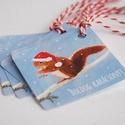 Állatos Karácsonyi Ajándékkísérő, Mókus, Adventi Kártya, Mikulás sapka, piros, Ünnepi, kiskártya, ajándék, natúr, egyedi, Naptár, képeslap, album, Karácsonyi, adventi apróságok, Ajándékkísérő, képeslap, Ajándékkísérő, Állatos Igényes Ajándékkártya darabra  * Kártya mérete: Kb:  5.9cm x5.9cm * Hátoldal üres, saját üze..., Meska