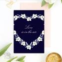Valentin napi Képeslap, Szeretlek lap, Valentin nap, üdvözlőlap, I love you, Szerelmes, virágos, tavaszi, love, virág, Naptár, képeslap, album, Esküvő, Szerelmeseknek, Képeslap, levélpapír, Ajándékkísérő, A/6-os méretű Igényes Alkalmi Valentin napi Üdvözlőlap  Lepd meg szerelmedet, kedvesedet vagy ..., Meska