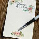 """Rusztikus Esküvői lap, kártya, vintage esküvő, party kártya, azt kívánjuk nektek hogy, Esküvő, Dekoráció, Meghívó, ültetőkártya, köszönőajándék, Esküvői dekoráció, Rusztikus Esküvői  """"Azt kívánjuk Nektek, hogy Kártya lap, A6-os Vendégeknek  A6  Passzoló Meghivót T..., Meska"""