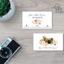 Névjegykártya, Egyedi Tervezés, fotográfus, címke, Névjegy, design, szerkesztés, virágos, logo, ajándékkísérő, logó, Naptár, képeslap, album, Képeslap, levélpapír, Jegyzetfüzet, napló, Ajándékkísérő, Fotó, grafika, rajz, illusztráció, Papírművészet, Virágos Névjegykártya csajoknak!  Fodrászoknak, Kozmetikusoknak bárkinek aki elegáns stílusban szer..., Meska