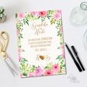 Rózsakert Esküvői meghívó, Nyári Esküvő, Rózsa, rózsás, elegáns, romantikus, virágos meghívó, vízfesték meghívó, Esküvő, Naptár, képeslap, album, Meghívó, ültetőkártya, köszönőajándék, Képeslap, levélpapír, Minőségi Virágos Esküvői  Meghívó  * MEGHÍVÓ CSOMAG: - Meghívó egy lap, egy oldalas: kb.: 14cm x 10c..., Meska