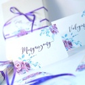 Esküvői ültetőkártya, meghívó, rózsa lap, rózsaszín Esküvői ültető, Esküvő Képeslap, virágos lap,, Esküvő, Naptár, képeslap, album, Meghívó, ültetőkártya, köszönőajándék, Esküvői dekoráció, Esküvői rózsaszín virágos ültetőkártya, Egyedi Igényes sátras, két oladalas asztali ültetőkártya  ös..., Meska