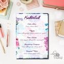 Esküvői Dekoráció, Esküvői felirat A4, dekor, Felirat, virágos, kék, réti, itallap, ital, koktél,, Esküvő, tábla, Esküvő, Dekoráció, Esküvői dekoráció, Nászajándék, Fotó, grafika, rajz, illusztráció, Papírművészet, Esküvői Dekoráció, A4-es nyomtatott lap.  Bármilyen felirat kérhető.   Kedves, figyelmes, Igényes K..., Meska