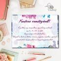 Esküvői kép, Dekoráció, kellék, Esküvői lap, Esküvő Dekor, Esküvői felirat, Vintage, Elegáns, Virágos, kártya, desszert, Esküvő, Dekoráció, Esküvői dekoráció, Kép, A4-es Esküvői kártya / Lap. Standard álló képkeretbe, asztalra.  Vásárláskor, kérlek írd meg a kíván..., Meska