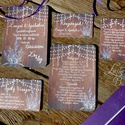 Levendula Virágos Esküvői meghívó, Pajta Esküvő, falu, Vintage Esküvői lap, vad virág, Rusztikus, Bohém, Esküvő, Naptár, képeslap, album, Meghívó, ültetőkártya, köszönőajándék, Esküvői dekoráció, Minőségi Virágos Esküvői  Meghívó  Meghívó CSOMAG 5 lapos szett : * Meghívó lap, egy oldalas : 14.3c..., Meska