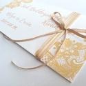 Pénzátadó boríték, Nászajándék, Gratulálunk képeslap, Esküvői Gratuláció, virágos, pénz átadó lap, vintgae, hortenzia, Igényes Egyedi Személyre szóló Pénz-Átadó Z...