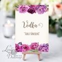Vicces Felirat Esküvőre, Itallap, Vodka, Dekoráció, kellék, Tudsz táncolni, alkohol, Dekor, Esküvői kártya, desszert lap, Esküvő, Dekoráció, Esküvői dekoráció, Kép, 13x18 cm-es Felirat Lap / Print (Keret-Állvány nélkül)  Esküvői kártya / Lap. Standard álló képkeret..., Meska