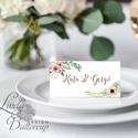 Esküvői ültetőkártya, rusztikus esküvő, party kártya, vintage wedding, Esküvői ültető, natúr, pajta, Esküvő, Naptár, képeslap, album, Meghívó, ültetőkártya, köszönőajándék, Esküvői dekoráció, Igényes, sátras, két oladalas asztali ültetőkártya  MÉRETE összehajtva: kb: 4.5x9.2cm  * SZERKESZTÉS..., Meska