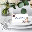 Esküvői ültető kártya, Elegáns, virágos ültető, hely, asztal, Esküvői dekor, Virágos, Party, Esküvő, Naptár, képeslap, album, Meghívó, ültetőkártya, köszönőajándék, Esküvői dekoráció, Elegáns virágos Esküvői Ültető kártya.  öszzehajtva: 10.1x7.1cm  250 gsm matt, vászon-bordázott mint..., Meska
