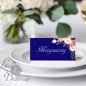 Esküvői ültető kártya, Elegáns, virágos ültető, hely, asztal, Esküvői dekor, Virágos, Party, Esküvő, Naptár, képeslap, album, Meghívó, ültetőkártya, köszönőajándék, Esküvői dekoráció, Igényes, sátras, két oldalas asztali ültetőkártya  MÉRETE összehajtva: kb: 4.5x9.2cm  * SZERKESZTÉSI..., Meska
