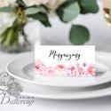 Esküvői ültető kártya, ültető, névkártya, névtábla, Esküvői dekor, dekoráció, virágos, rózsás, pasztell, núd, vintage, Esküvő, Naptár, képeslap, album, Meghívó, ültetőkártya, köszönőajándék, Esküvői dekoráció, Igényes, sátras, két oldalas asztali ültetőkártya  MÉRETE összehajtva: kb: 4.5x9.2cm  * SZERKESZTÉSI..., Meska