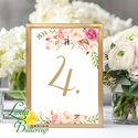 Asztalszám kártya, Ültetési rend, Dekoráció, kellék, Esküvői lap, Esküvő Dekor, Esküvői felirat, kártya, desszert, Esküvő, Dekoráció, Esküvői dekoráció, Kép, 10x15 cm-es ASZTALSZÁM Esküvői kártya / Lap. Standard álló képkeretbe, asztalra.  Egyéb méretek kérh..., Meska