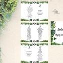 Bohó Ültetési rend, Natúr, természetközeli, seat chart, seating plan, Esküvői ültetésirend, Ültetők, Ültetésrend,, Esküvő, Naptár, képeslap, album, Meghívó, ültetőkártya, köszönőajándék, Esküvői dekoráció, Akasztós Ültetési rend A4-es lapokból fűzve.  Az ár 9-10 DB asztalra van kalkulálva: 5db A4-es lap. ..., Meska