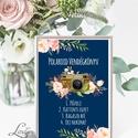 Polaroid fotó Esküvői Felirat A4, fénykép, fotó albumhoz, Esküvői kép, Esküvő Dekor, Esküvői felirat, virágos, sötétkék, Esküvő, Dekoráció, Esküvői dekoráció, Kép, A/4-es Esküvői Felirat Dekoráció, bármilyen szöveggel, keret nélkül.  Bármilyen feliratot kérhetsz r..., Meska