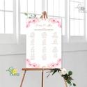 Bohó Ültetési rend, Natúr, virágos, seat chart, seating plan, Esküvői ültetésirend, Ültetők, Ültetésrend, virág, Esküvő, Naptár, képeslap, album, Meghívó, ültetőkártya, köszönőajándék, Esküvői dekoráció, A2 Ültetési rend - PAPÍR POSZTER  MÉRET: A2: (42x59.4cm) Ez a maximum méret amit el tudunk készíteni..., Meska