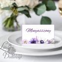 Ültetőkártya, ültető, névkártya, rózsaszín Esküvői ültető, virágos, pink, tavaszi esküvő, nyári, romantikus, lila, Esküvő, Naptár, képeslap, album, Meghívó, ültetőkártya, köszönőajándék, Esküvői dekoráció, Igényes, sátras, két oladalas asztali ültetőkártya  MÉRETE összehajtva: kb: 4.5x9.2cm  * SZERKESZTÉS..., Meska