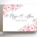 Esküvői Emlékkönyv, gyűrűs fotó mappa Vendégkönyv, virágos könyv, virág, elegáns, rózsás, rózsaszín, ezüst, szürke, Esküvő, Naptár, képeslap, album, Nászajándék, Esküvői dekoráció, Esküvői emlékkönyv, vendégkönyv Ezüst gerinccel  MÉRET: Fekvő A5 Ha szükséges más méret is kérhető. ..., Meska