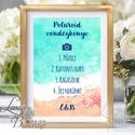 Polaroid fotó Esküvői Felirat A4, fénykép, fotó albumhoz, Esküvői kép, Dekor, Esküvői felirat, tengerparti, kagyló, Esküvő, Dekoráció, Esküvői dekoráció, Kép, A/4-es Esküvői Felirat Dekoráció, bármilyen szöveggel, keret nélkül.  Bármilyen feliratot kérhetsz r..., Meska
