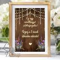 Esküvői felirat, Dekoráció, asztalszám, desszert asztal, Esküvői lap, Esküvő Dekor, Esküvői felirat, faminta, minta, Esküvő, Dekoráció, Esküvői dekoráció, Kép, 10x15 cm-es esküvői felirat Esküvői kártya / Lap.  Standard álló képkeretbe, asztalra.  VÁSÁRLÁSKOR ..., Meska