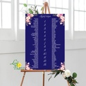 Bohó Ültetési rend, Natúr, sötétkék, seat chart, seating plan, Esküvői ültetésirend, Ültetők, Ültetésrend, virágos, Esküvő, Naptár, képeslap, album, Meghívó, ültetőkártya, köszönőajándék, Esküvői dekoráció, A2 Ültetési rend - PAPÍR POSZTER  MÉRET: A2: (42x59.4cm) Ez a maximum méret amit el tudunk készíteni..., Meska