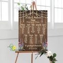 Bohó Ültetési rend, Natúr, falap, seat chart, seating plan, Esküvői ültetésirend, Ültetők, Ültetésrend, mintás, egyedi, Esküvő, Naptár, képeslap, album, Meghívó, ültetőkártya, köszönőajándék, Esküvői dekoráció, A2 Ültetési rend - PAPÍR POSZTER  MÉRET: A2: (42x59.4cm) Ez a maximum méret amit el tudunk készíteni..., Meska