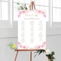 Bohó Ültetési rend, Natúr, seat chart, seating plan, Esküvői ültetésirend, Ültetők, Ültetésrend, virágos, Esküvő, Naptár, képeslap, album, Meghívó, ültetőkártya, köszönőajándék, Esküvői dekoráció, A2 Ültetési rend - PAPÍR POSZTER  MÉRET: A2: (42x59.4cm) Ez a maximum méret amit el tudunk készíteni..., Meska