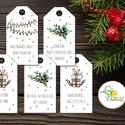 Vicces Karácsonyi Ajándékkísérő, Humoros kártya, szarkasztikus, Mikulás,  Ünnepi, ajándék, egyedi, személyre szóló, Karácsonyi, adventi apróságok, Naptár, képeslap, album, Ajándékkísérő, képeslap, Ajándékkísérő, Vicces-humoros Ajándékkísérő kártyák csomagra  1 CSOMAGBAN: 5db kártya van  HA SAJÁT EGYEDI SZÖVEGET..., Meska