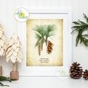 Vintage kép, Print, Vintage karácsonyi kép, dekoráció, dekor, falikép, Adventi, fenyő, toboz, fenyőfa, botanikus, növény, Dekoráció, Ünnepi dekoráció, Karácsonyi, adventi apróságok, Karácsonyi dekoráció, A4 Minőségi Print Lap, Nyomtatás  * KERET NÉLKÜL! *  * MÉRET: A4  * ANYAG:  250g-os kiváló minőségű ..., Meska