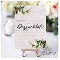 Esküvői kép, Dekoráció, kellék, Esküvői lap, Esküvő Dekor, Esküvői felirat, téli, rusztikus, szarvas, őz, lámpás, Esküvő, Dekoráció, Esküvői dekoráció, Kép, 13x18 cm-es Esküvői kártya / Lap. Standard álló képkeretbe, asztalra.  Egyéb méretek kérhetőek:  * 1..., Meska