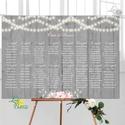 Esküvői Ültető Poszter A3, Esküvői kép, Esküvő Dekor, Esküvői felirat, Vintage, Elegáns, rózsaszín, geometrikus, Esküvő, Dekoráció, Esküvői dekoráció, Kép, A/3-as Esküvői Poszter, bármilyen egyszerű felirattal, keret nélkül.  Tökéletes kellék & Dekor Elegá..., Meska