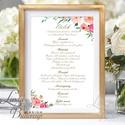 Menü lap, Asztalszám, kraft, spárga, Esküvői lap, Esküvői menü, rózsaszín menü, Party menü, rusztikus, virágos, szines, Esküvő, Naptár, képeslap, album, Meghívó, ültetőkártya, köszönőajándék, Esküvői dekoráció, Esküvői Menü   Egy lapos / 1oldalas MÉRETE: 10x15cm  Szerkesztési költség 2000 Ft Az egyszeri szerke..., Meska