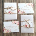 2db-os szett, Tanú felkérő lap, koszorúslány felkérő lap, Esküvői Képeslap, virágos, rózsa, rózsás, rosegold, felkérő, Esküvő, Otthon & lakás, Meghívó, ültetőkártya, köszönőajándék, Naptár, képeslap, album, Tanú / Koszorúslány felkérő lap A/6, borítékkal.  2db NÉVRE SZÓLÓ LAP: ** SZÖVEG VÁLTOZTATHATÓ** Vás..., Meska