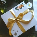 MATRICA, 14db, címke, Karácsonyi Ajándékkísérő, cédula, vignetta, levonó, sticker, cég, céges, logó, céges matrica, Otthon & lakás, Dekoráció, Ünnepi dekoráció, Karácsonyi, adventi apróságok, Ajándékkísérő, Naptár, képeslap, album, Ajándékkísérő, 14db Karácsonyi Téglalap Matrica  MATRICA KIVITELEZÉSE: * A4-es matrica lapon * Könnyen lehúzható * ..., Meska