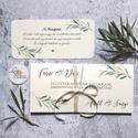 Pénzátadó boríték, Nászajándék, Gratulálunk képeslap, Esküvői Gratuláció, Pénzátadó boríték - szalaggal kötve +kísér...