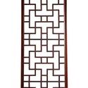 Lattice 2 - keleti rácsos fali panel, Dekoráció, Otthon, lakberendezés, Dísz, Falikép, Famegmunkálás, Festett tárgyak, Fából készült keleti stílusú rácspanel. Mérete: 173,5 cm x 47 cm x 2 cm (magasság x szélesség x vas..., Meska