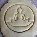 Buddha sütikiszúró, Egyéb, Férfiaknak, Konyhafőnök kellékei, Saját tervezésű és 3D-nyomtatású  süteménykiszúró forma.  Gautama Sziddhártha, Gautama Buddha, Sákja..., Meska