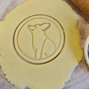 Róka sütikiszúró, Egyéb, Otthon & lakás, Konyhafelszerelés, Saját tervezésű és 3D-nyomtatású  süteménykiszúró forma.  A lányom terve alapján jött létre ez a kis..., Meska