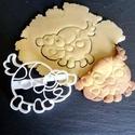 Kutyus süteménykiszúró  - mintázó, Konyhafelszerelés, Mindenmás, Baba-mama-gyerek, Mézeskalácssütés, Mindenmás, A kiszúró segítségével mintázott süteményeket készíthetünk.  Ahogy a képen is látszik, a kész sütem..., Meska