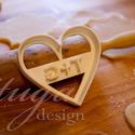 Monomgrammos sütemény kiszúró pároknak, Esküvő, Esküvőre, eljegyzésre vagy házassági évfordulóra készültök? Legyen a Nagy Nap még emlékezetesebb saj..., Meska