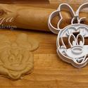 Minnie egér sütemény kiszúró forma, Konyhafelszerelés, Baba-mama-gyerek, Karácsonyi, adventi apróságok, Fotó, grafika, rajz, illusztráció, Mindenmás, Disney klasszikusa, Minnie Mouse is megihletett minket, így őt is süti formába öntöttük :) Hű párja..., Meska