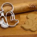 Mickey egér sütemény kiszúró forma, Konyhafelszerelés, Baba-mama-gyerek, Karácsonyi, adventi apróságok, Fotó, grafika, rajz, illusztráció, Mindenmás, Disney klasszikusa, Mickey Mouse is megihletett minket, így őt is süti formába öntöttük :) Hű párja..., Meska
