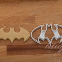 Batman sütemény kiszúró forma - (nagy), Konyhafelszerelés, Baba-mama-gyerek, Fotó, grafika, rajz, illusztráció, Mindenmás, Batman logoját formázó sütemény kiszúró / szaggató forma.  Gyermek szülinapi zsúrokra is ideális, v..., Meska