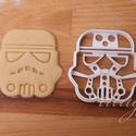 Star Wars - Stormtrooper alakú sütemény kiszúró forma, Konyhafelszerelés, Férfiaknak, Fotó, grafika, rajz, illusztráció, Mindenmás, Stormtooper-t  formázó sütemény kiszúró    Kb. 8cm x 8cm.    A siker érdekében fontos, hogy kevésbé..., Meska