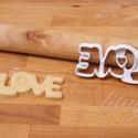 LOVE - Szerelem, szeretet, egyedi esküvői sütemény kiszúró Valentin napra, Esküvő, Konyhafelszerelés, Szerelmeseknek, Esküvőre, eljegyzésre, házassági évfordulóra készültök? Legyen a Nagy Nap még emlékezetesebb egyedi ..., Meska