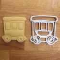 Vonatos sütemény kiszúró forma - Járművek, vonat vagon, Járműves sorozatunk következő tagja: vonatvago...