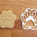Kutya tappancs, mancs alakú sütemény kiszúró forma, keksz szaggató, Konyhafelszerelés, Baba-mama-gyerek, Fotó, grafika, rajz, illusztráció, Mindenmás, Állatos keksz kiszúró sorozatunk következő tagja: kutya tappancsot, mancsot formázó sütemény/keksz ..., Meska